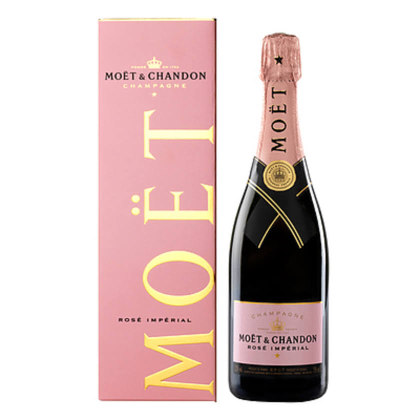 Moet Chandon Imperial Rose Dry - Champagne, France