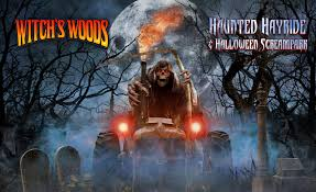 Best Halloween Attractions New England by Witch U0027s Woods Haunted Hayride And Halloween Screampark