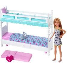 barbie sisters bunk beds play set xtreme wheelz com