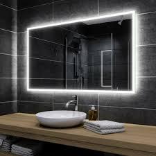 badezimmer badspiegel mit led spiegel mit beleuchtung