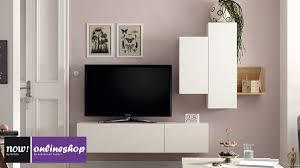 now for you wohnwand nr 2 drei verschiedene akzent farben erhältlich