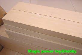 aaa balsa wood blocks 1000mm long 50x100x1000mm for airplane boat