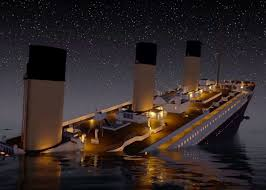 Sinking Ship Simulator The Rms Titanic by Titanic Sinks In Real Time U201d Is Chillingly Detailed Video