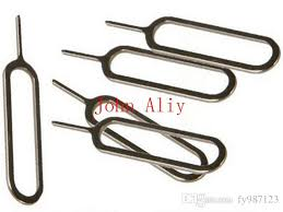Sim Card Tray Eject Ejector Pin Removal Tools Key For Apple Ipad