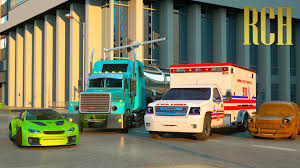 Florence The Ambulance And Ross The Race Car - Real City Heroes (RCH ...