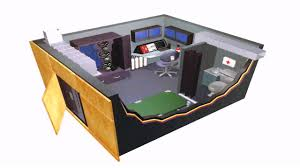 House Design With Panic Room