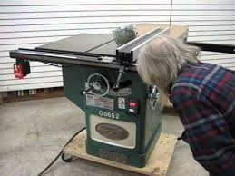 Grizzly 1023 Cabinet Saw by Sold Used Grizzly Table Saw Model G0652 Us0122 Youtube