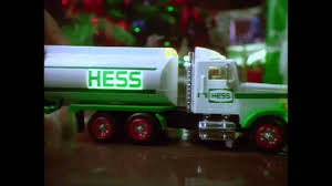 100 Hess Truck History 1990 Toy Commercial YouTube