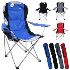 HEAVY DUTY CAMPING CHAIR LUXURY PADDED FOLDING HIGH BACK DIRECTORS W/ CUP  HOLDER Equal Portable Easy Folding Recling Zero Gravity Chair National Public Seating Details About White Leather Padded Desk Seat Back Rest Office Computer Garden Beige Vinyl Stackable Merax High Ergonomic Gaming Pu Leather Adjustable Height Rotating Lift Advantage Grey Dove 1in Hamc309avgygg Maple Wood 5pc Xl Series Card Table And Ultra Thick Set Black 2418usb A Shape Heavyduty Premium 2 Fabric By 3200 Hercules With Inch