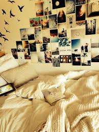 Room Bedroom Inspiration Wall DIY Posters Photos Decor Polaroids Tumblr Rooms Ideas Collage