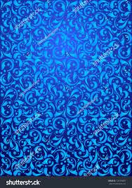 100 Cool Blue Design Vector Print Decorative