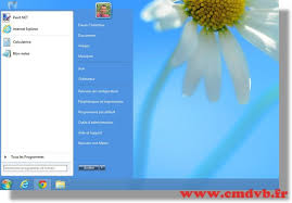 bureau windows 7 sur windows 8 startmenu8 retrouver le menu démarrer windows 7 sous windows 8