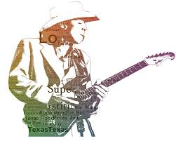 Stevie Ray Vaughan Digital Art