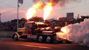 Big Truck Drag Racing - Best Image Truck Kusaboshi.Com Jet Semi Truck Stock Photos Images Alamy Toyotas Hydrogen Smokes Class 8 Diesel In Drag Race Video Amazing Trucks Racing Youtube How Fast Is A Supercharged Toyota Tundra The With Hillclimb 1400 Hp And 5800 Nm Racetruck Powerslide No Trucks Race Racing Gd Drag Semi Tractor Big Rig Fire Flames This V16powered Is The Faest Big Thing At Bonneville In Canada Involves Rolling Coal 71 Tons Of Onaway Speedway Home Pdf Semitrucks 1950s A Photo Gallery Full Online