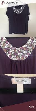 Dressbarn Sequin Purple Shirt Top Size 3X Plus   Sequins, Smoke ... Plus Size Tops Shirts Blouses Wave Crochet Top Wrangler Riggs Workwear Boot Barn Mens Work Fire Resistant Best 25 Green Short Sleeve Tops Ideas On Pinterest T Shirt Womens Drses Coshoulder Highlow Dress Dressbarn My Tshirts The Hundreds Casual Day Western Silver Edition Ashley Graham Launches New Collection At Dressbarn Instylecom Image Collections Design Ideas Hippie Pick World Button Down Medium Pre Owned Sleeves Can Be