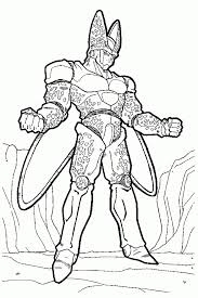 Dragon Ball Z Coloring Pages Free Printable 65191