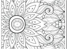 Coloring Pages To Print And Color Challenging Difficult Free Printable By Number Abstract