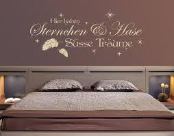 schlafzimmer wandspruch süsse träume mit namen