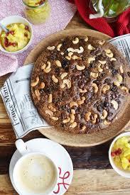 natürlich gesund schoko cashew kuchen mit mango chia creme