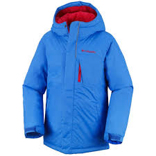 Columbia Boys Alpine Free Fall Jackets Hyper Blue Bright Red C2113050columbia For