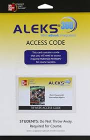 ALEKS 360 Access Card 18 Weeks For