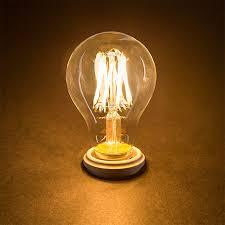 4w 6w 8w 10w edison a19 globe l vintage led filament bulb warm