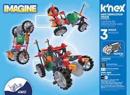 100 Demolition Truck KNEX Imagine 4WD Building Set 402 Pieces