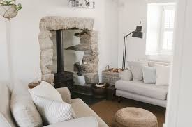 Cottage Livingroom 17th Century Cottage Living Room Makeover Before