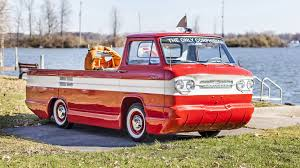 1961 Chevrolet Corphibian | S253 | Kissimmee 2016 1961 Chevrolet Corvair Corphibian Amphibious Vehicle Concept 1962 Classics For Sale On Autotrader 63 Chevy Corvair Van Youtube Chevrolet Corvair Rampside Curbside Classic 95 Rampside It Seemed Pickup Truck Rear Mounted Air Cooled Corvantics 1964 Chevy Pickup Pinterest Custom Sideload Pickup Pickups And Trucks Pickup Cars Car