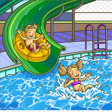 Water Park Child Play Clip Art