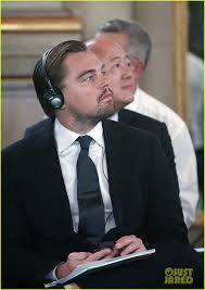 Halloween Town Cast Change by Leonardo Dicaprio U0026 His Dad Attend Climate Change Summit Photo