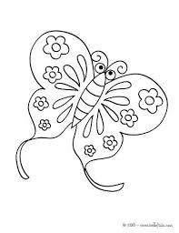Swallowtail Butterfly Coloring Page Cute Pages