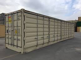 100 Shipping Containers For Sale New York Open Side Container Container Technology Inc