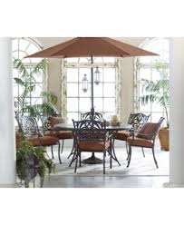 Macys Round Dining Room Table by Chateau Outdoor Cast Aluminum 7 Pc Dining Set 60