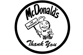 1955 1961 Speedee McDonalds First Logo