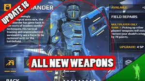 modern combat 5 last war modern combat 5 update 18 all new kommander weapons shields