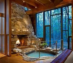Interessane Gestaltung Eingelassene Badewanne Hölzerne Bretter Eingelassene Badewanne 41 Tolle Designs Archzine