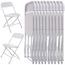Ktaxon 10Pcs Commercial Plastic Folding Chairs Stackable Wedding Party  Chairs,White - Walmart.com Mainstays Steel Black Folding Chair Better Homes Gardens Delahey Wood Porch Rocking Walmartcom Mings Mark Directors Details About Wenzel 97942 Banquet Camping Extra Large Blue Best Choice Products Set Of 5 Chairs Premium Resin 4pack In White Speckle Deluxe Pro Grid Mesh Seat And Back Ships 2 Per Carton Multiple Colors National Public Seating 50 Series All Standard With Double Brace 480 Lbs Capacity Beige 4 Stacking Kids Table Sets