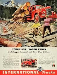 100 Vintage Truck Magazine International 1946 PostersSignsAdsProducts S