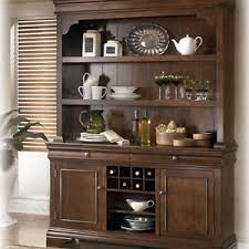 Ashley Belcourt Dark Brown Wood Dining Room Buffet