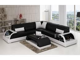 canapé d angle design en cuir bolzano l pop design fr