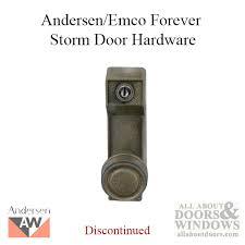 Storm Door Knob Locks