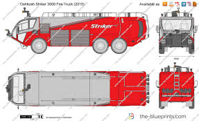 100 Fire Truck Drawing Oshkosh Striker 3000 Vector Drawing