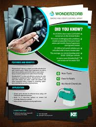 Flyer Design By Creativebugs For Specialty Chemical Company Needs An Informational Marketing