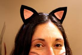 how to make cat ears cat ears for a costume at cloverhill
