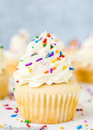 These fluffy and moist Eggless Vanilla Cupcakes are super easy to make with just a few