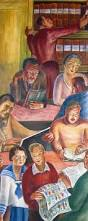 Coit Tower Murals Wpa by Coit Tower Tales Of Murder Drag And A Small Round