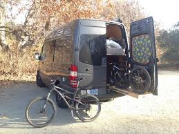 Econoline Blast Cabinet Accessories by The Adventure Mobile Our Diy Sprinter Camper Van Bicycle Hauler