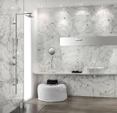 modernes badezimmer alternative für fliesen marmor wand