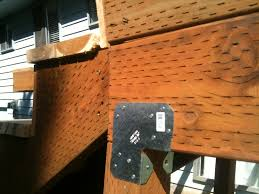 Deck Joist Hangers Nz by Deck Beam Brackets Deck Design And Ideas